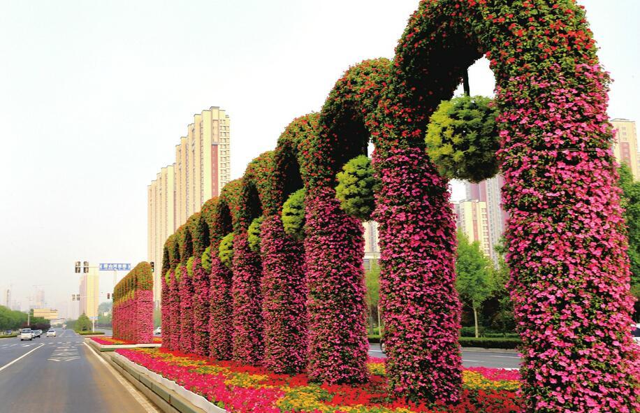 绿化美化 城市靓丽