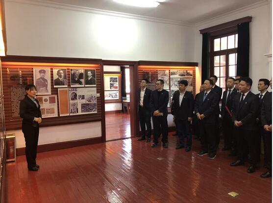 济南公交二分公司党委组织党员参观蔡公时纪念馆