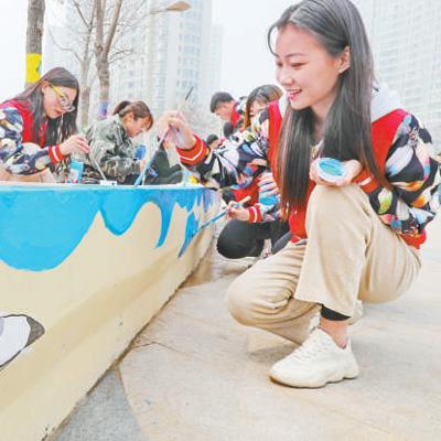 追逐青春理想 为祖国建设添砖加瓦