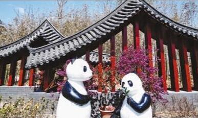四川园:熊猫家园 水润天府(北京世园会风采)