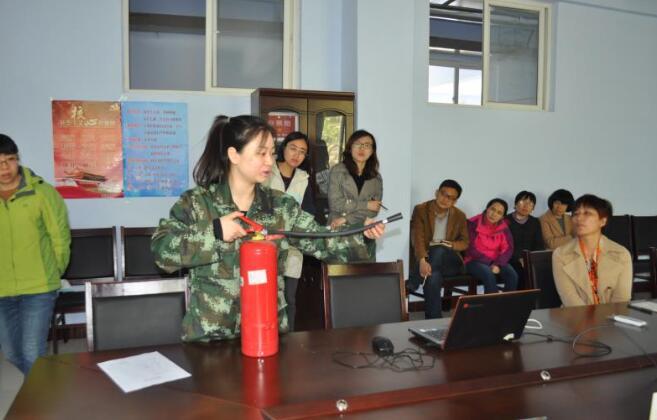 济南市鲁矿第一小学开展教师消防安全培训活动