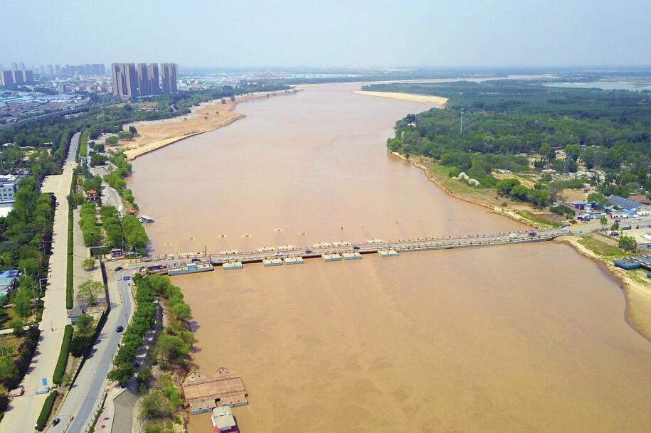济南:黄河流量稳 安然迎汛期