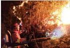 【火情关注】丽江玉龙发生山火 周边尚无重要设施及民居