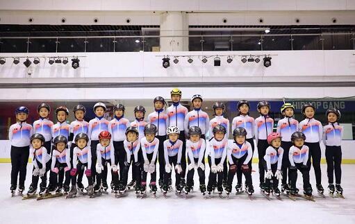 【聚焦冰雪】组建短道速滑队 济南冰雪运动队伍建设迈出新步伐
