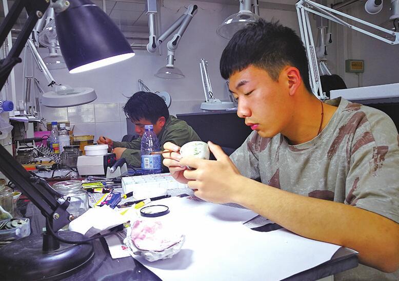 莱芜职业技术学院文物修复专业让学生就业不愁