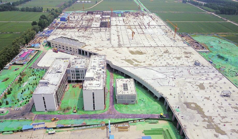 济南轨交R3线接车线轨道铺完 距10月1日试运行目标越来越近