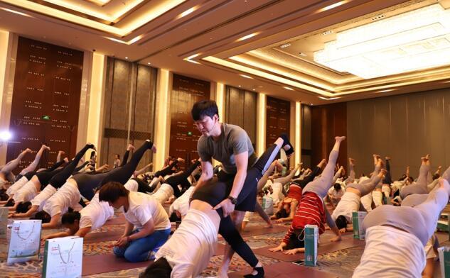 18位顶尖大师齐聚泉城授课 山东省第四届瑜伽大会开幕
