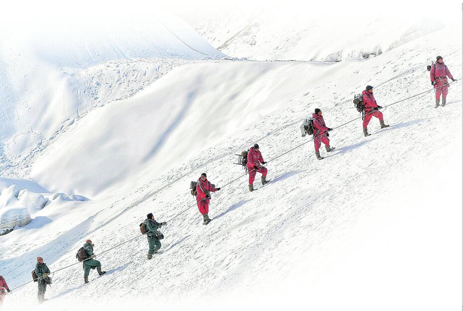 纪念中国登顶珠峰59周年 9月30日看电影《攀登者》 两代攀登者同框传承中国精神