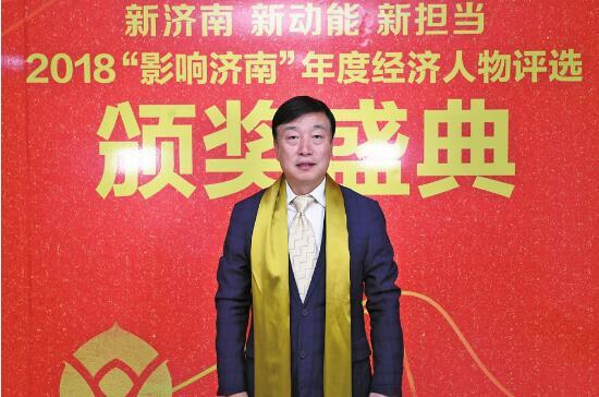 山東蘭劍物流科技股份有限公司董事長 吳耀華