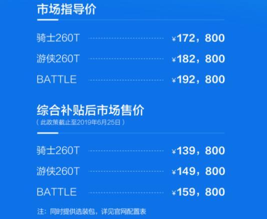 补贴后售价13.98—15.98万 缤越PHEV上市