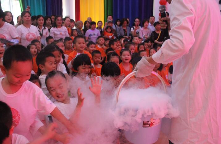 """这个六一科学""""范儿"""" 槐荫区第三实验幼儿园举办六一科学嘉年华活动"""