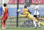 中国女足0:1德国女足 世界杯首战遗憾告负