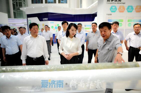 """济南日报报业集团助力""""中国玫瑰之都""""产业振兴"""