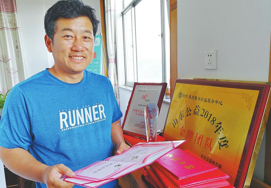 """济南暖冬公益服务中心理事长柳克民:做好每一件""""小事""""帮助需要帮助的人"""