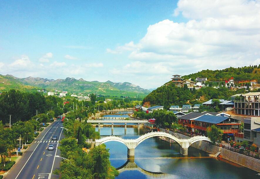 济南:绿水青山入画来