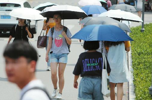 橙色预警回归 济南今明局部最高39℃