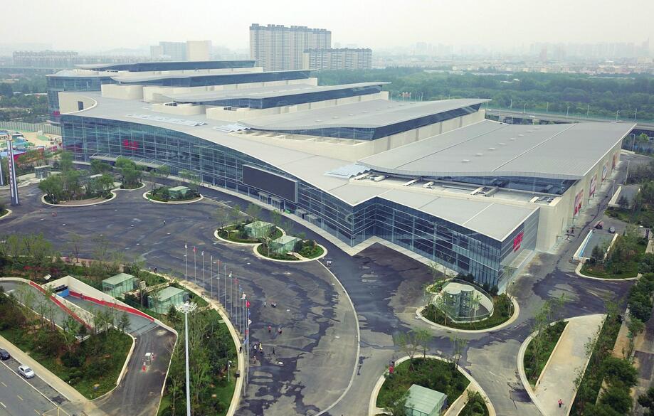 """济南""""新地标""""西部国际会展中心即将亮相 是舜耕国际会展中心的5倍"""