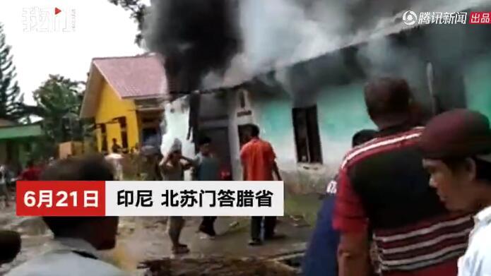 印尼打火機廠爆炸 工人無處可逃被活活燒死