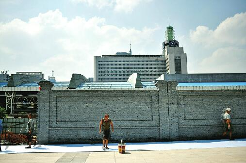 停工兩年的濟南火車站北廣場復工 地上廣場有望率先開放