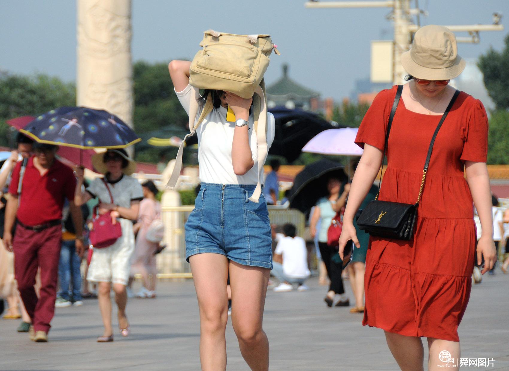 气象台发布高温黄色预警 山东新疆等局地将超40℃