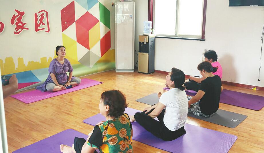 [温暖泉城]孕妈妈的公益瑜伽课
