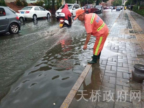 宝华街街道众志成城积极应对扎实做好防汛工作