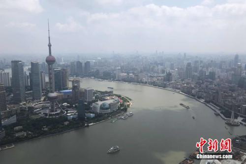 """【看长江之变】打造世界级会客厅:看上海北外滩的""""绿色蜕变"""""""