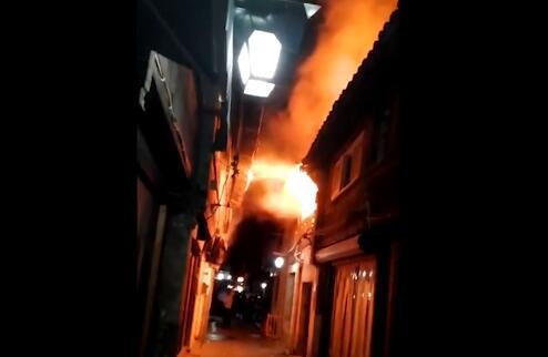 旅游是否受影响?浙江乌镇房屋着火 东栅、西栅依然美丽如常