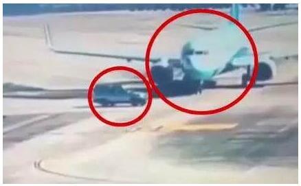 惊险!福州SUV险撞飞机事件具体经过是什么机场回应来了