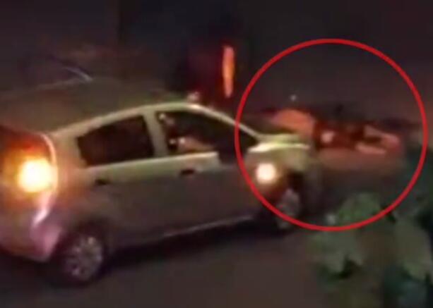 男子派出所外碾人后淡定下车看死者 现场画面曝光简直丧心病狂!