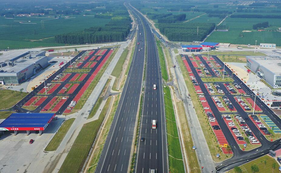 济青北线小许家以东段通车:双向8车道 最高限速120公里/小时
