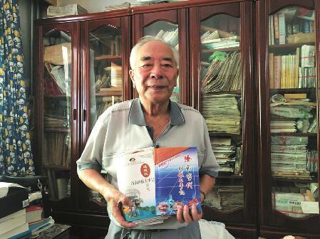 """78岁退休干部编纂""""济南科技家谱"""" 为""""科创名城""""扬名"""