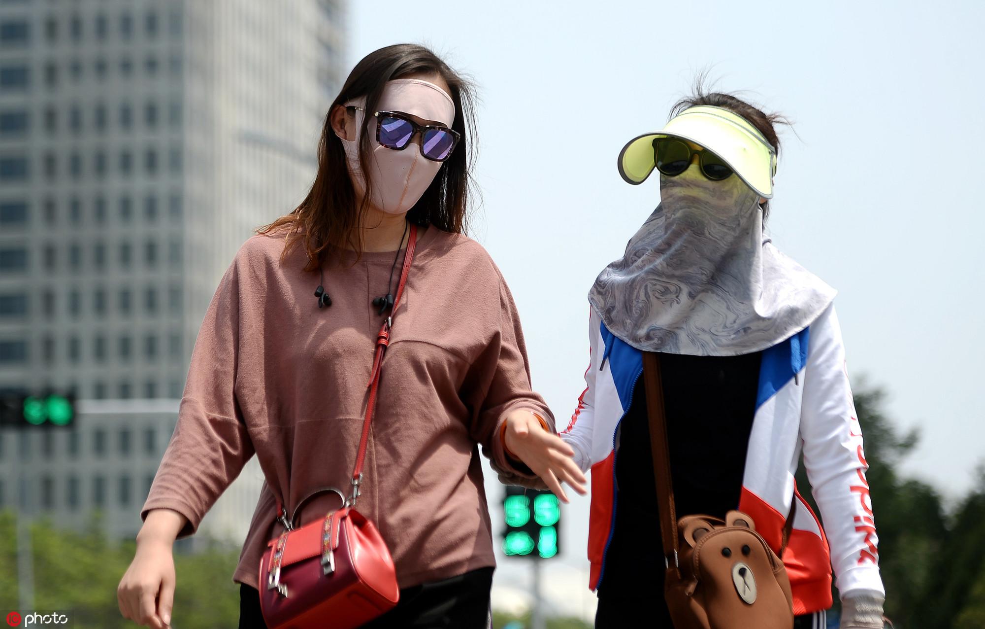 高温橙色预警继续发布 中东部部分地区将达37到39℃