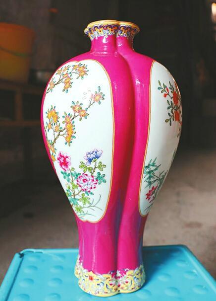 【聚焦济南艺博会】沈亚华陶瓷艺术淋漓尽致表现大自然的美