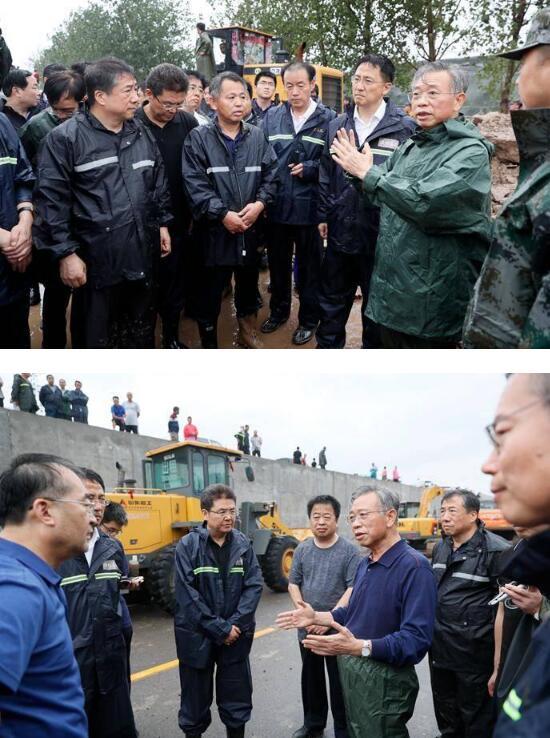 刘家义到省防汛抗旱指挥部和寿光市察看指导防汛防台风工作