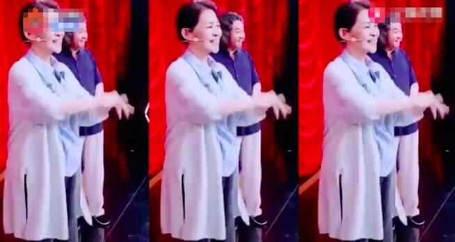 萌翻了!倪萍跳火箭少女舞蹈花絮曝光  60岁的倪萍为了拉票也是拼了