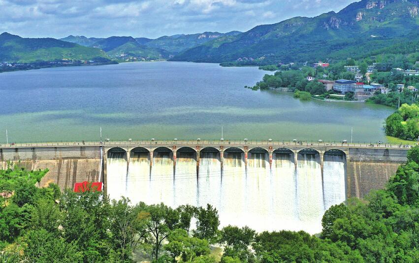 济南是市科学调度减少河道下游泄洪压力