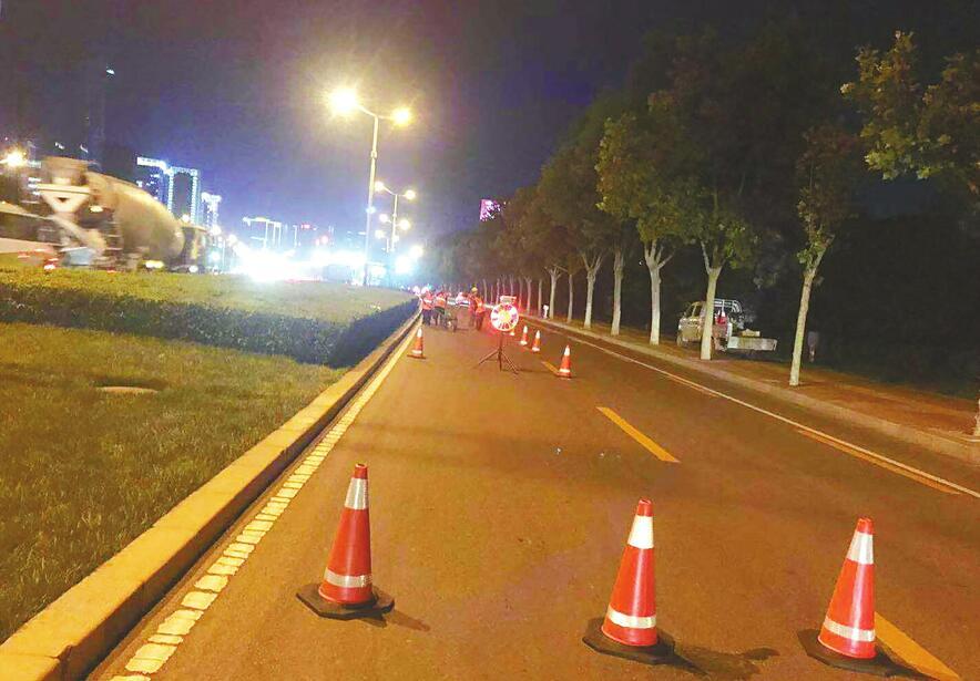 济南经十路今起全面整治提升 快车道施工将避开交通高峰