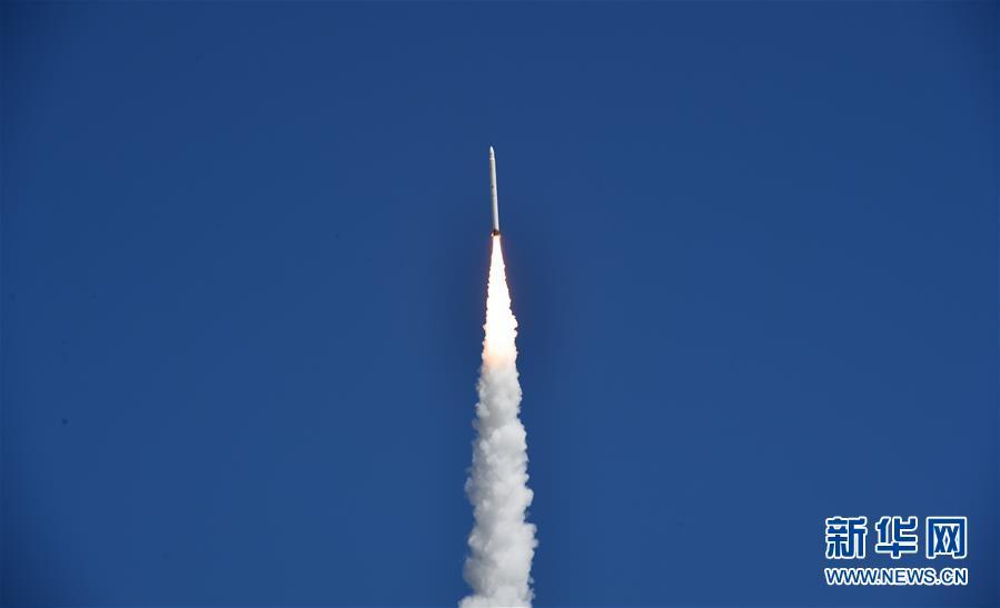 """捷龙一号运载火箭""""一箭三星""""首飞成功"""