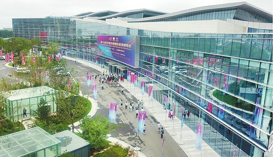 """客流量""""10万+""""现场成交额约3亿元 山东国际会展中心首展告捷"""