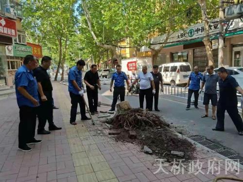 制锦市街道全力以赴攻坚创卫复审开展卫生大扫除行动
