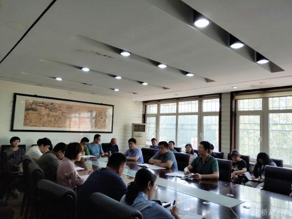 官扎营街道召开迎接国家卫生城市复审工作调度会