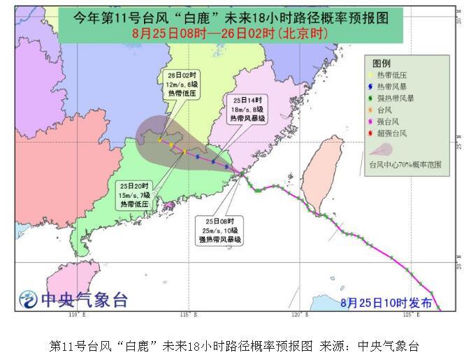 【新消息】台风白鹿登陆福建什么情况?白鹿台风实时路径具体详情