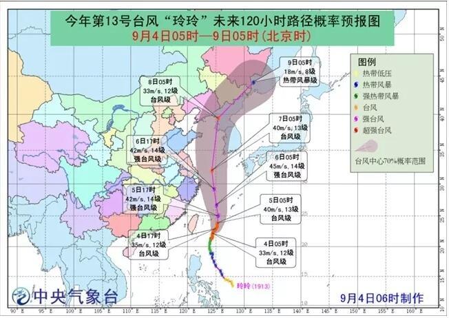 应急科普 | 台风黄色预警 台风登陆知多少?