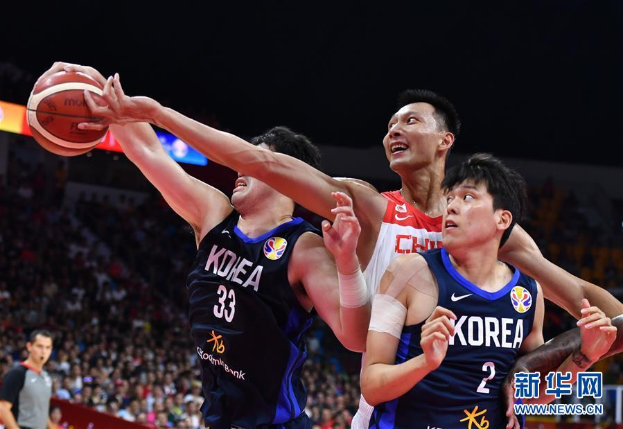 4分险胜韩国队 中国男篮留住直通奥运希望 9月8日晚,决战尼日利亚!