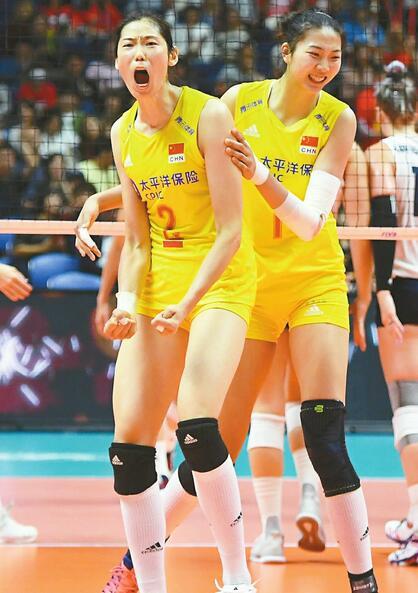 横扫美国队豪取七连胜 中国女排距世界杯五冠王还有多远?