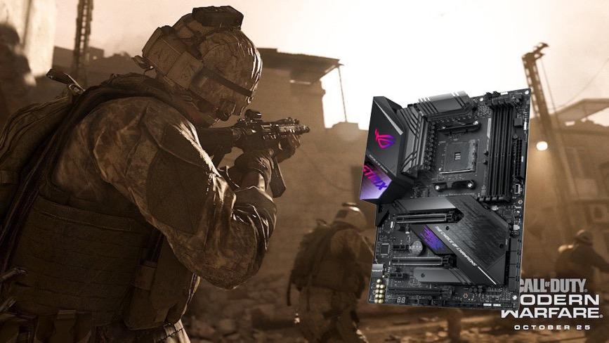 华硕X570电竞主板带你征服《使命召唤》大战场