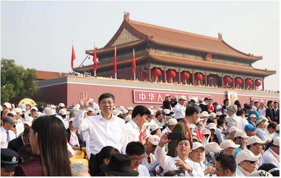 国庆盛典中的济南面孔 聆听他们对祖国母亲的深情表白