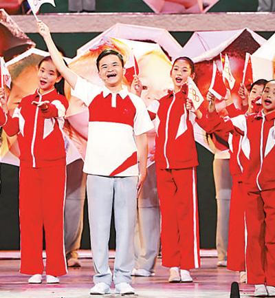 奋斗的足迹 人民的力量(逐梦70年)——大型音乐舞蹈史诗《奋斗吧 中华儿女》观后