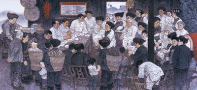 同贺国庆 共享荣光(逐梦70年)——庆祝新中国成立70周年系列艺术展览掠影